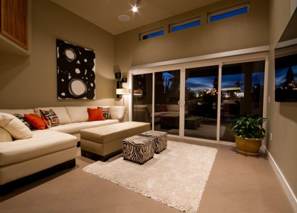 living room decorating ideas and designs Remodels Photos AB Design Elements, LLC Scottsdale Arizona United States contemporary-family-room-001