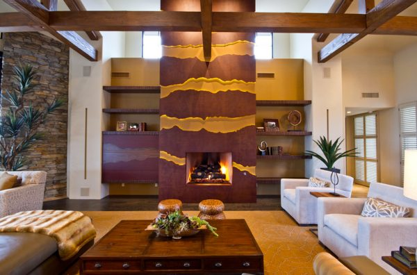living room decorating ideas and designs Remodels Photos AB Design Elements, LLC Scottsdale Arizona United States contemporary-family-room-009