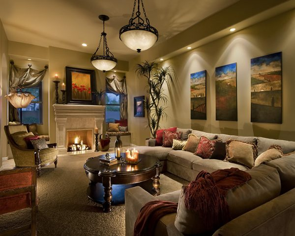 living room decorating ideas and designs Remodels Photos AB Design Elements, LLC Scottsdale Arizona United States traditional-living-room