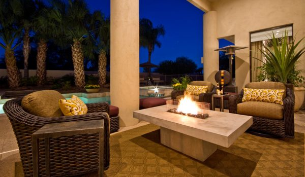 living room decorating ideas and designs Remodels Photos AB Design Elements, LLC Scottsdale Arizona United States transitional-exterior
