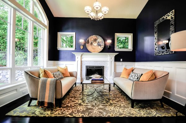 living room decorating ideas and designs Remodels Photos Amy Troute Inspired Interior Design Portland Oregon United States traditional-living-room
