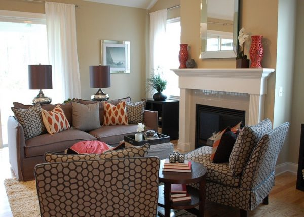 living room decorating ideas and designs Remodels Photos Amy Tyndall Design Wilmington, NC Carolina United States contemporary-living-room-004