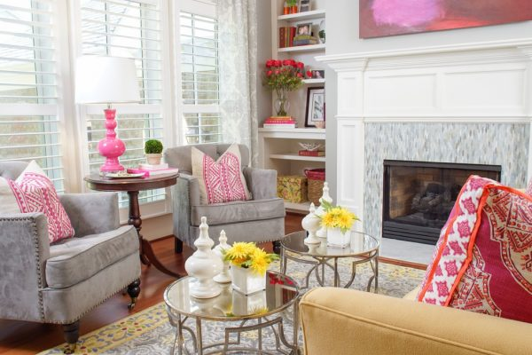 living room decorating ideas and designs Remodels Photos Amy Tyndall Design Wilmington, NCCarolina United States transitional-living-room