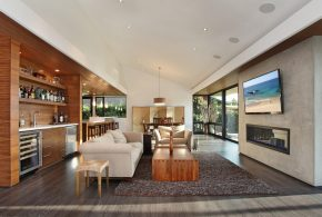 Living Room Decorating and Designs by Anders Lasater Architects - Laguna Beach, California, United States