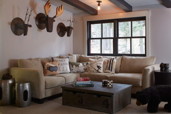 living room decorating ideas and designs Remodels Photos Artistic Designs for Living San Francisco California United States rustic-family-room