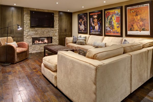 living room decorating ideas and designs Remodels Photos Avalon Interiors Thornhill Ontario Canada rustic-family-room