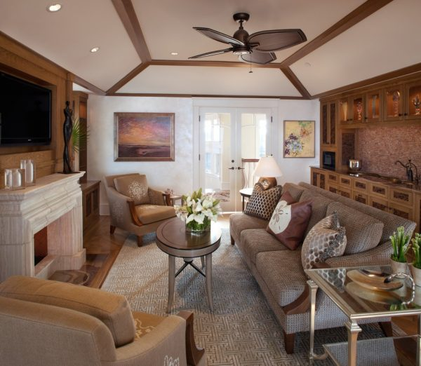 living room decorating ideas and designs Remodels Photos Bruce Palmer Design Studio Wilmington Delaware United States beach-style-family-room-001