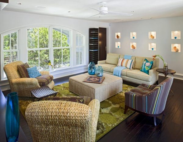 living room decorating ideas and designs Remodels Photos Bruce Palmer Design Studio Wilmington Delaware United States contemporary-living-room-003