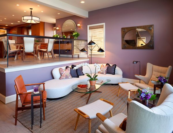 living room decorating ideas and designs Remodels Photos Bruce Palmer Design Studio Wilmington Delaware United States contemporary-living-room