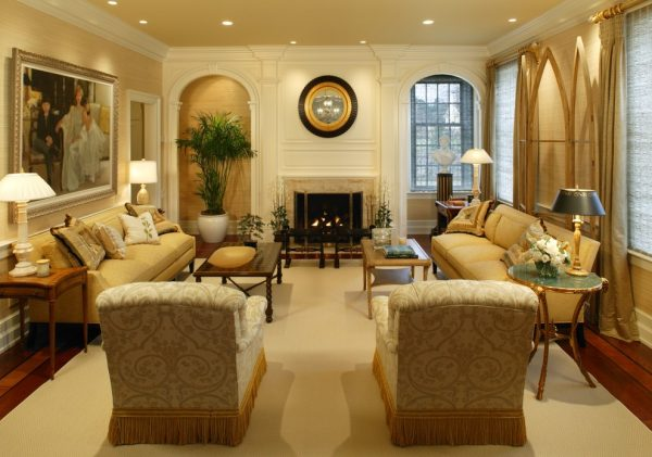 living room decorating ideas and designs Remodels Photos Bruce Palmer Design Studio Wilmington Delaware United States traditional-living-room-006