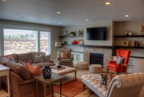 Living Room Decorating and Designs by Joe Carrick Design - Spanish, Fork Utah, United States