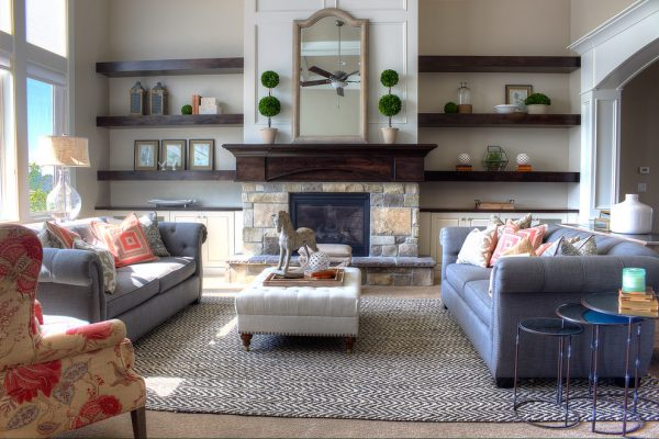 living room decorating ideas and designs Remodels Photos Joe Carrick DesignSpanish Fork Utah United States transitional-family-room-003
