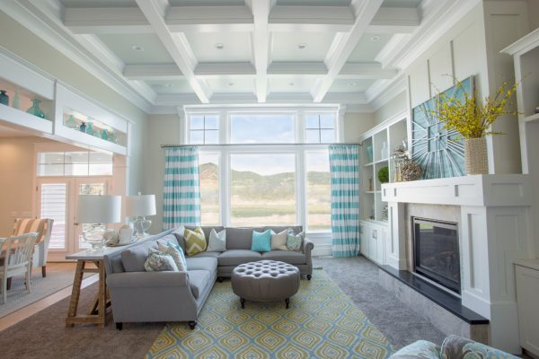 living room decorating ideas and designs Remodels Photos Joe Carrick DesignSpanish Fork Utah United States transitional-family-room