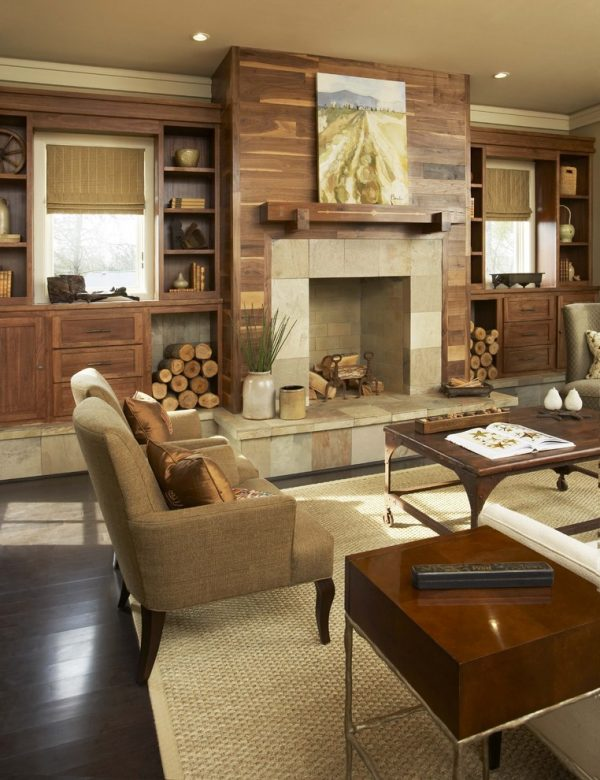 Living room decorating and designs by johnston design - Interior designers greenville sc ...