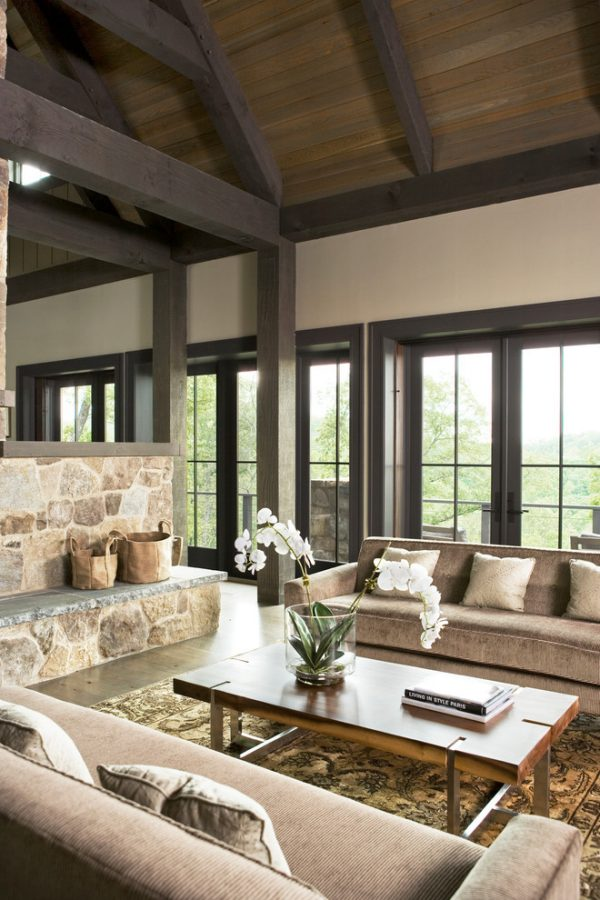living room decorating ideas and designs Remodels Photos Johnston Design Group Greenville South Carolina United States contemporary-living-room-005
