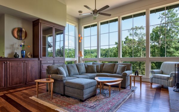 living room decorating ideas and designs Remodels Photos Johnston Design Group Greenville South Carolina United States craftsman-living-room