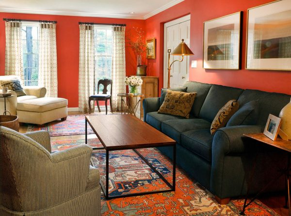 living room decorating ideas and designs Remodels Photos S+H Construction Cambridge Massachusetts United States contemporary-family-room-002