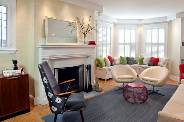 living room decorating ideas and designs Remodels Photos S+H Construction Cambridge Massachusetts United States modern-living-room