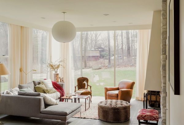 living room decorating ideas and designs Remodels Photos S+H Construction Cambridge Massachusetts United States transitional-living-room-001