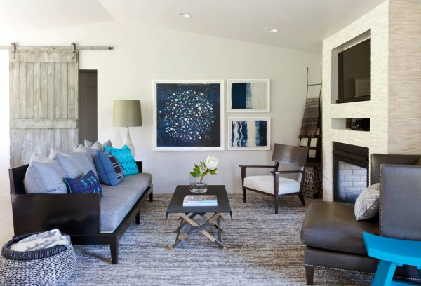living room decorating ideas and designs Remodels Photos ashley campbell interior design Denver Colorado United States beach-style-living-room