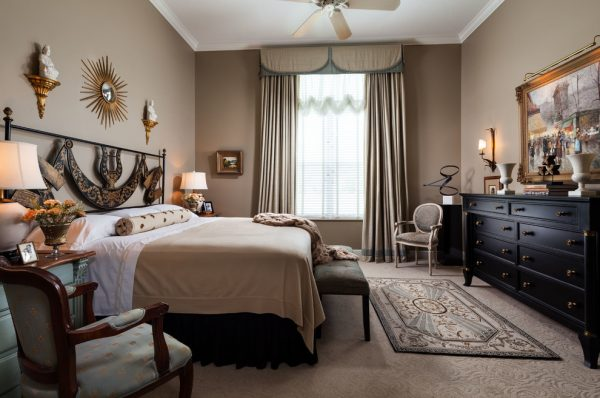 bedroom decorating ideas and designs Remodels Photos Adelene Keeler Smith Interior Design West Palm Beach Florida traditional-bedroom