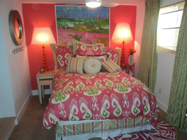 bedroom decorating ideas and designs Remodels Photos Affordable Chic Scottsdale Arizona United States beach-style-bedroom