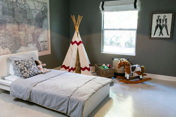 bedroom decorating ideas and designs Remodels Photos Amity Worrel & Co. Austin Texas United States contemporary-kids-001