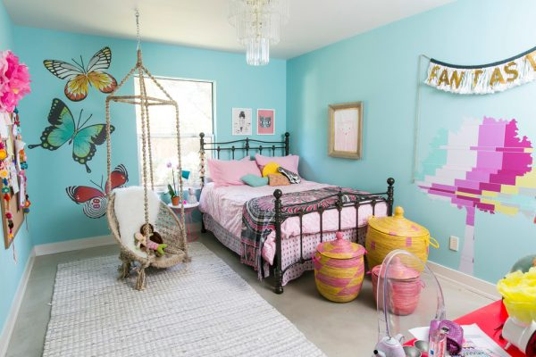 bedroom decorating ideas and designs Remodels Photos Amity Worrel & Co. Austin Texas United States contemporary-kids