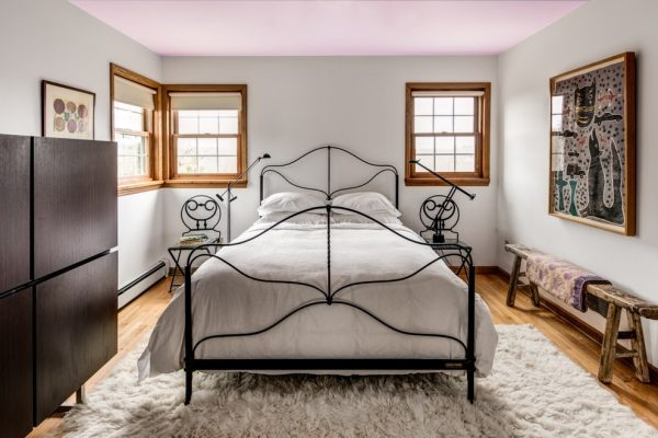 bedroom decorating ideas and designs Remodels Photos Amy Krane Color Ghent New York United States eclectic-bedroom