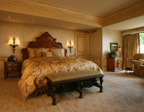bedroom decorating ideas and designs Remodels Photos Ann-Marie Anton for It's Personal Design Grosse Pointe Farms traditional-bedroom