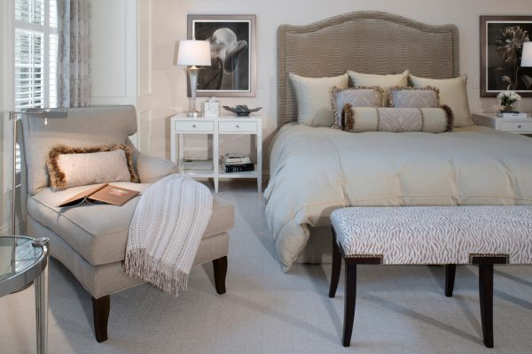 bedroom decorating ideas and designs Remodels Photos Ann-Marie Anton for It's Personal Design Grosse Pointe Farms transitional-bedroom