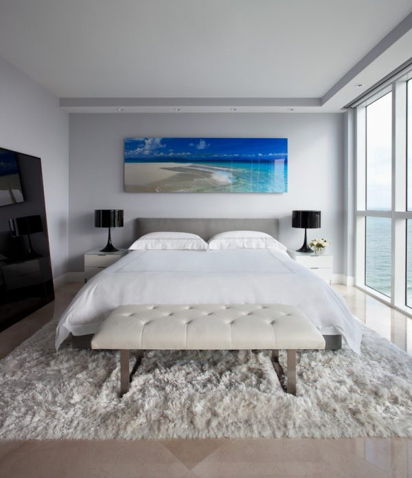 bedroom decorating ideas and designs Remodels Photos Benjamin Cruz Designs New York United States contemporary-bedroom-004