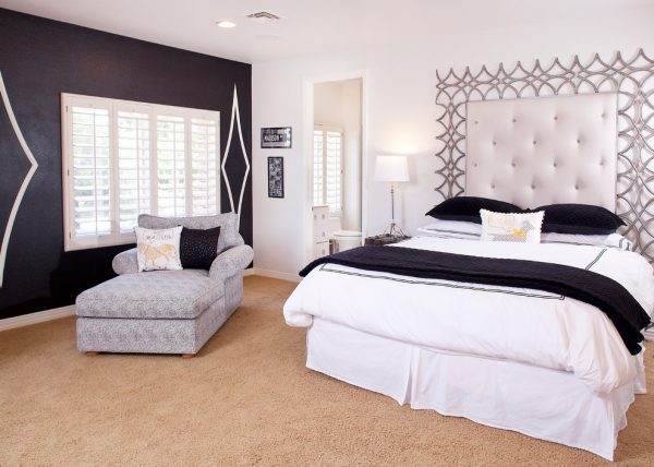 bedroom decorating ideas and designs Remodels Photos Bigelow Interiors, LLC Henderson Nevada United States transitional-bedroom-004