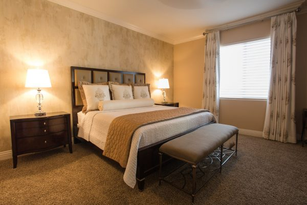 bedroom decorating ideas and designs Remodels Photos Bigelow Interiors, LLC Henderson Nevada United States transitional-bedroom-005