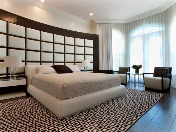 bedroom decorating ideas and designs Remodels Photos Britto Charette LLC - NYC Interiors Miami Florida United States contemporary-bedroom-001
