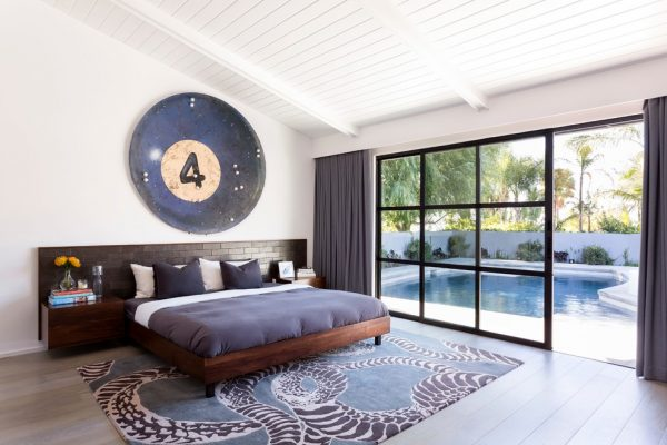 bedroom decorating ideas and designs Remodels Photos Brown Design Group Los Angeles California United States midcentury-bedroom