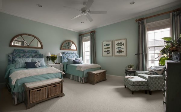 bedroom decorating ideas and designs Remodels Photos CHD Interiors Murrells Inlet South Carolina United States beach-style-bedroom-016