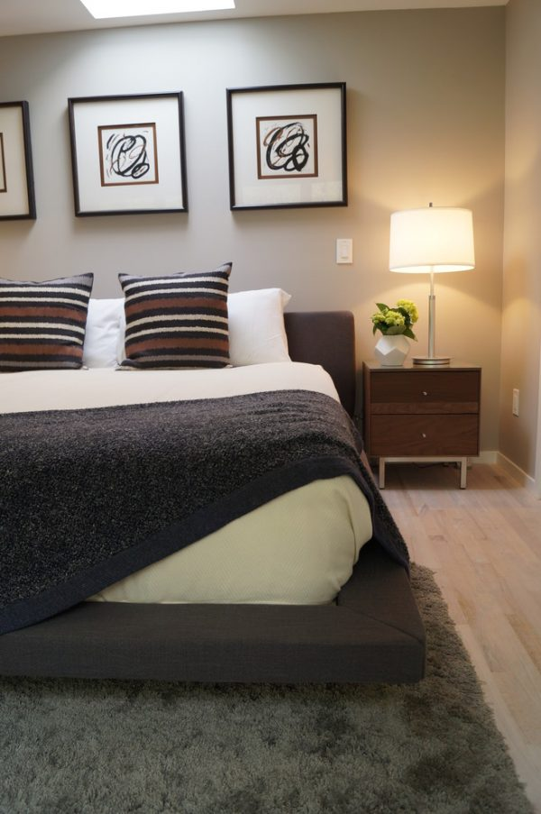 bedroom decorating ideas and designs Remodels Photos CL Interiors Noel Rd Pennsylvania United States contemporary-bedroom-001