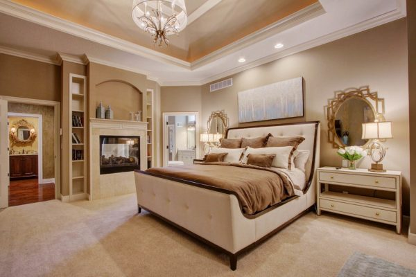 bedroom decorating ideas and designs Remodels Photos Chastain Interiors Kansas Missouri United States transitional-bedroom-006