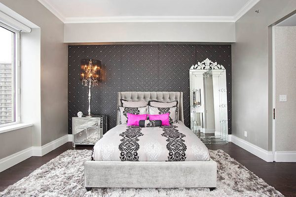 bedroom decorating ideas and designs Remodels Photos Creative Designs by Sofia New York United States contemporary-bedroom-002