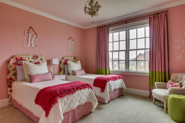 bedroom decorating ideas and designs Remodels Photos Cristi Holcombe Interiors, LLC Atlanta Georgia United States traditional-kids