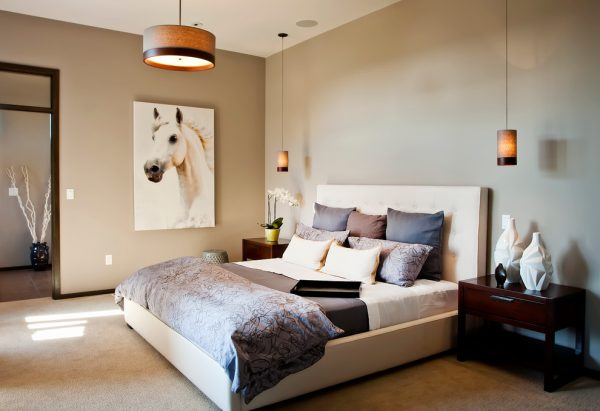 bedroom decorating ideas and designs Remodels Photos Cyndi Parker Interiors Vancouver Washington United States contemporary-bedroom-001