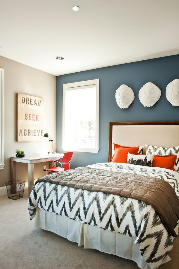 bedroom decorating ideas and designs Remodels Photos Cyndi Parker Interiors Vancouver Washington United States contemporary-bedroom