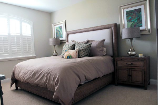bedroom decorating ideas and designs Remodels Photos DECORATIVA Melbourne Florida United States contemporary-bedroom