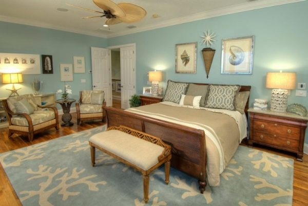 bedroom decorating ideas and designs Remodels Photos Decker Ross Interiors Clearwater Florida United States tropical-bedroom