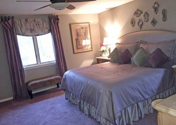 bedroom decorating ideas and designs Remodels Photos Decorating Den Interiors - Susan Keefe, C.I.D. Mahwah eclectic-bedroom