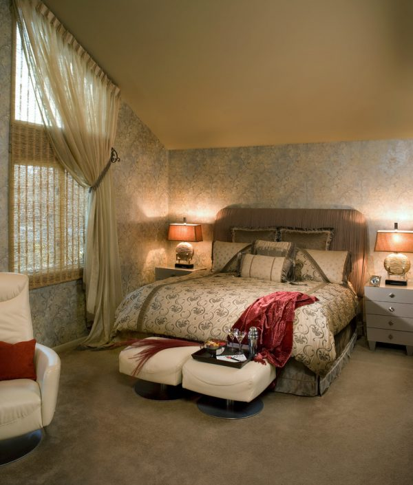 bedroom decorating ideas and designs Remodels Photos Decorating Den Interiors - Susan Keefe, C.I.D. Mahwah modern-bedroom