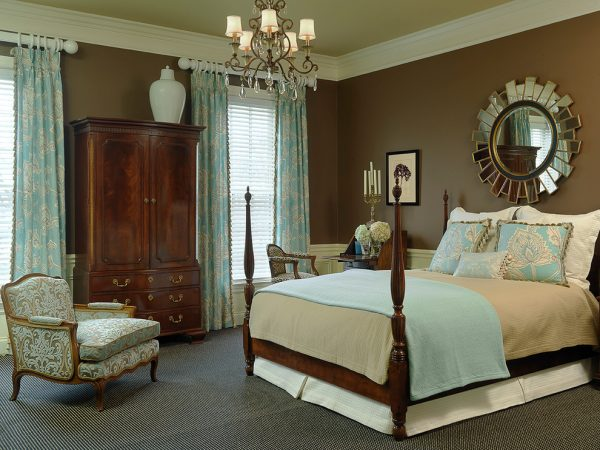bedroom decorating ideas and designs Remodels Photos Denise Fogarty Interiors Ballwin Missouri United States traditional-bedroom