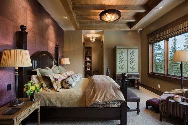 bedroom decorating ideas and designs Remodels Photos Design Associates - Lynette Zambon, Carol Merica Bozeman Montana home-design