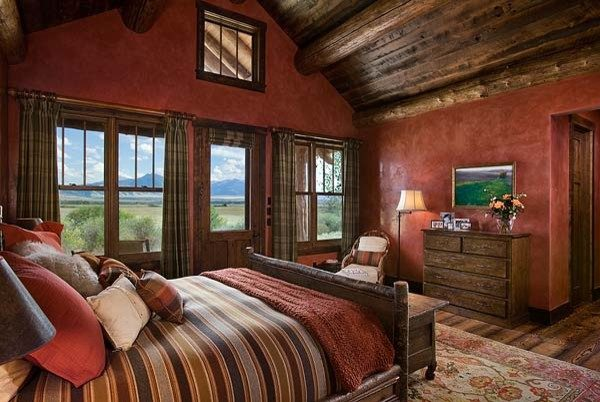 bedroom decorating ideas and designs Remodels Photos Design Associates - Lynette Zambon, Carol Merica Bozeman Montana rustic